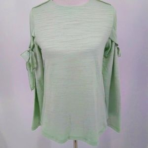 New Como Vintage Small Shirt Pastel Pale Green